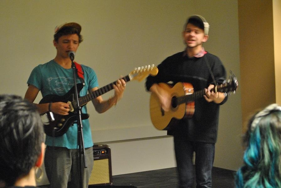 Tom Carlson and Alex Sandin