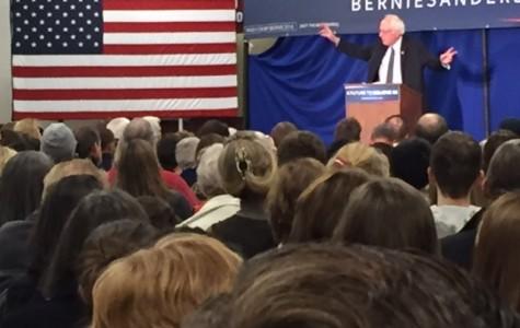 Bernie Sanders Speaks to Crowd of all Ages