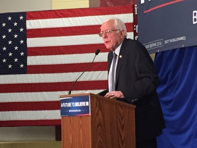 Bernie visits Bedford