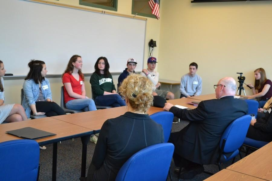 U.S. Department of Education Visits Souhegan High School
