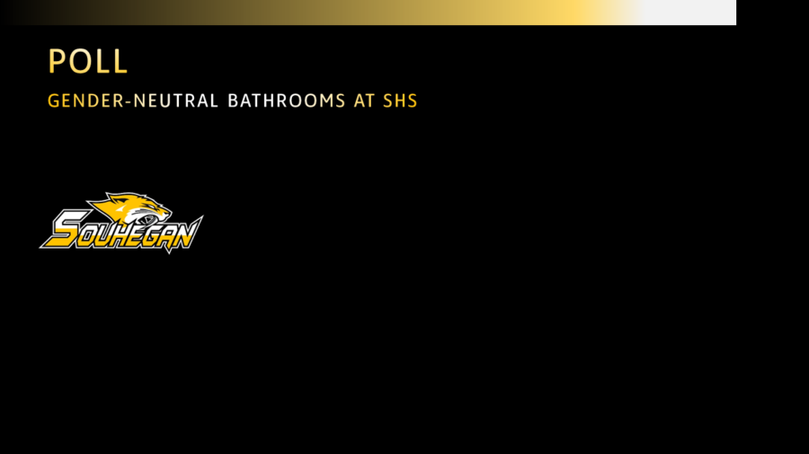 POLL : Gender-Neutral Bathrooms at SHS