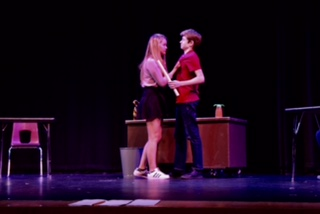 Things are getting heated in the first act.....