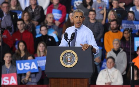 Obama Makes Last Address as POTUS in New Hampshire
