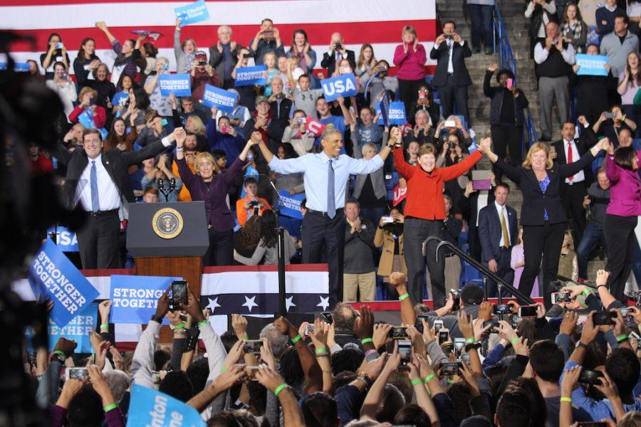 Now after months of campaigning, the rallies, the ads, its in your hands! Obama reminded people.