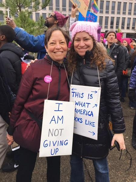 Maryland+natives+stand+smiling+with+their+homemade+signs.+They+are+both+experienced+activists+stating+that%2C+%E2%80%9CEquality+and+free+choice+should+be+a+human+right%2C+not+a+luxury.%E2%80%9D+