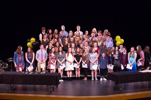 National Honors Society Inductions