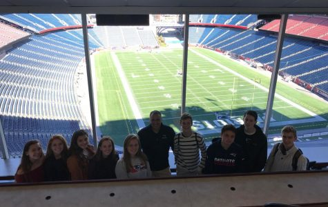A Trip to Gillette Stadium: Souhegan Sports Writers Meet with Patriots Executive
