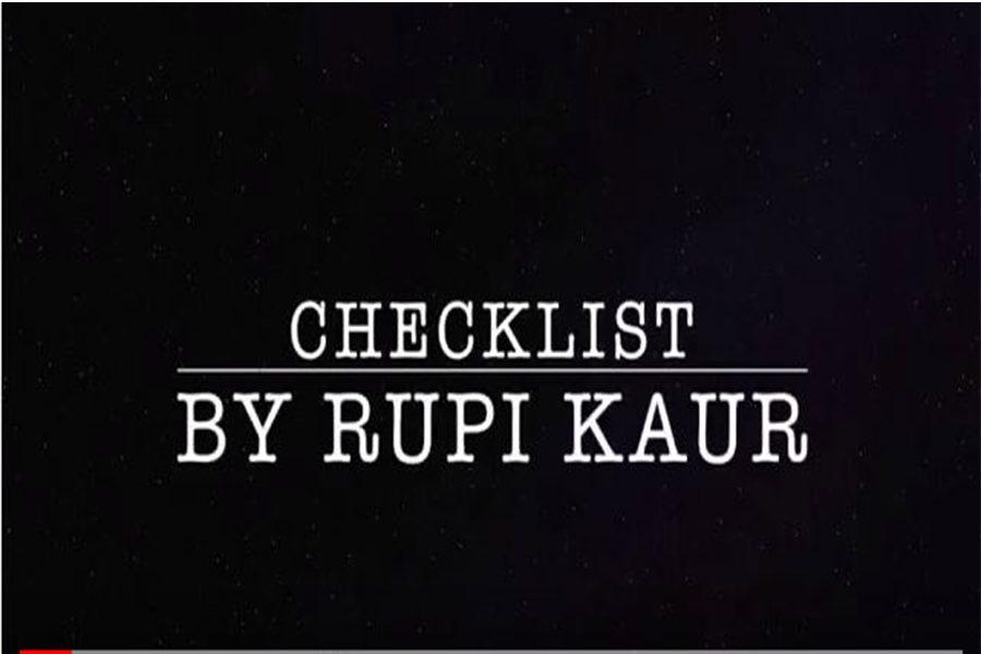 "Video Interpretation: Rhupi Kaur's Poem, ""Checklist"""