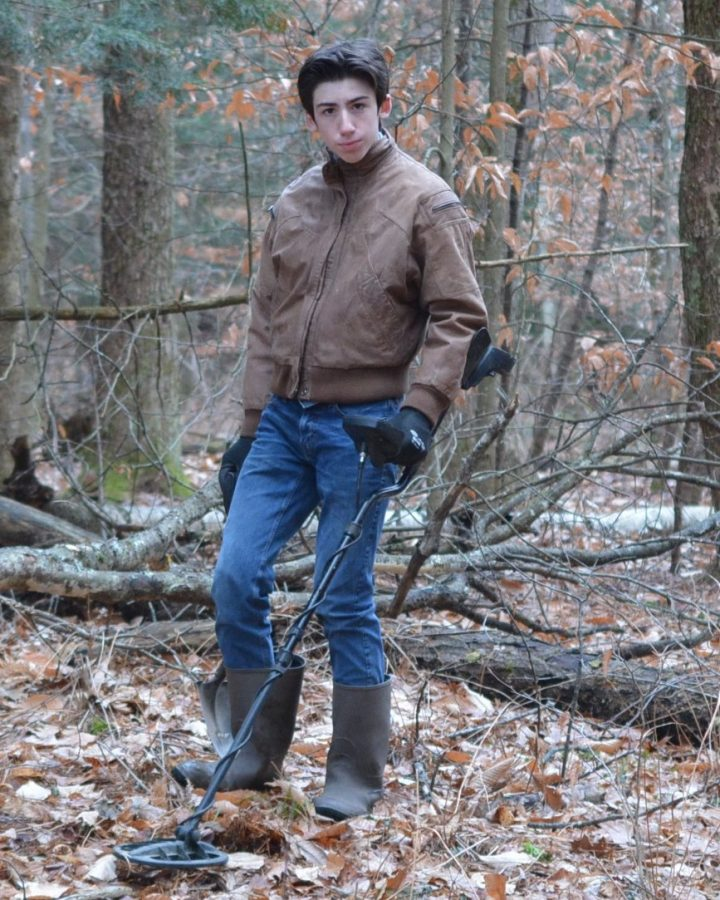 Metal Detecting and Coin Collecting:  Souhegan High School Student Spotlight