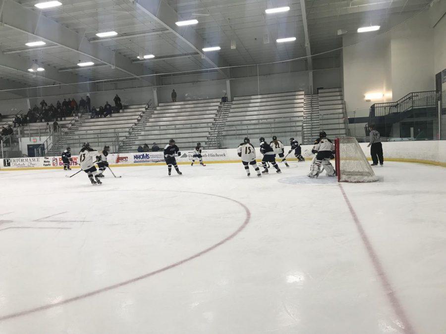 Girls Hockey Home Opener