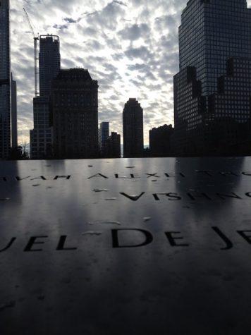 """Katie Dellovo, Grade 11, """"9-11 Sky Light""""  Honorable Mention"""