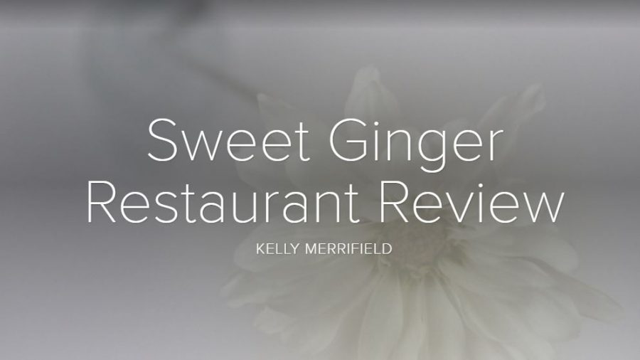 Sweet Ginger is Pretty Sweet