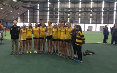 Girls Indoor Track Takes First Place; Second Year in a Row