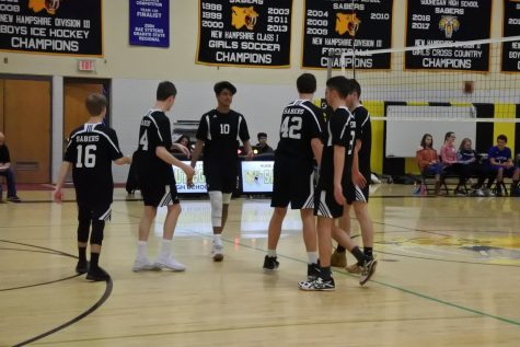 Souhegan Boys Varsity Volleyball Take it to Five to Win Against Londonderry