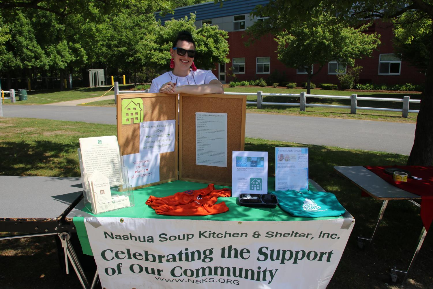 The+Nashua+Soup+Kitchen+and+Shelter+joined+other+local+organizations+at+this+charity+fair.