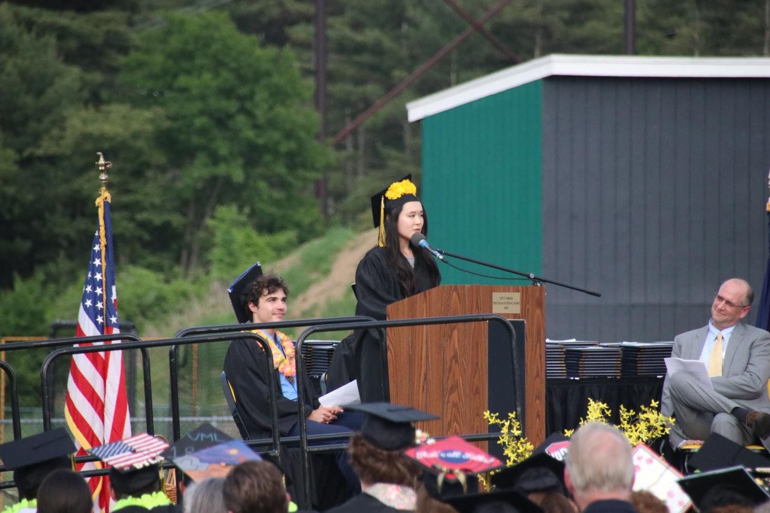 The+Valedictorian+of+the+Souhegan+Class+of+2018+was+Melody+Chen.