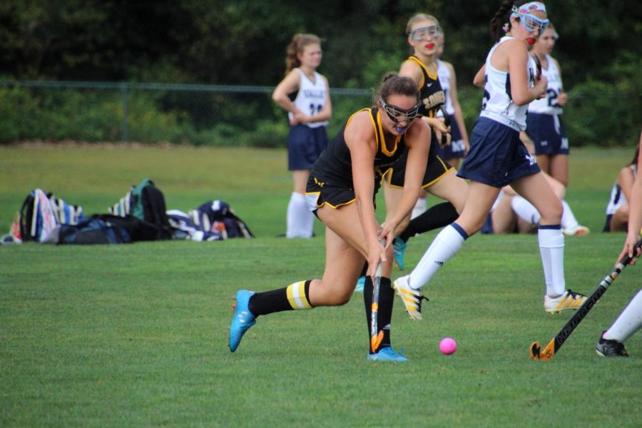 Souhegan Field Hockey Team Gets a Late Goal to Secure 1-0 win Against Merrimack Valley