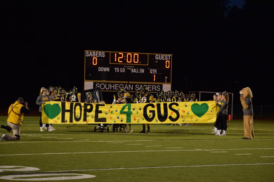 Hope+for+Gus+Foundation+Celebrates+its+8th+Year+as+The+Sabers+Battle+the+Spartans
