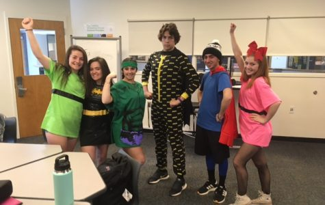 Superhero Day Takes Over High School