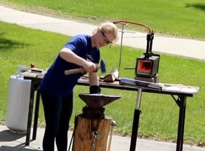 Shannon Paquette: Is there a place for blacksmithing in modern industrialized society?