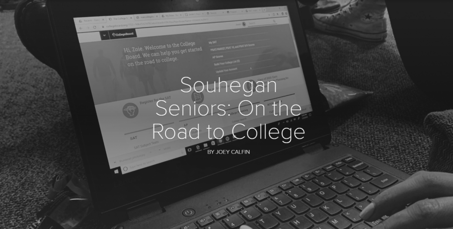 Souhegan Seniors: On the Road to College