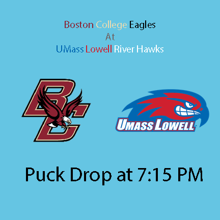 Boston College Eagles vs UMass Lowell River Hawks
