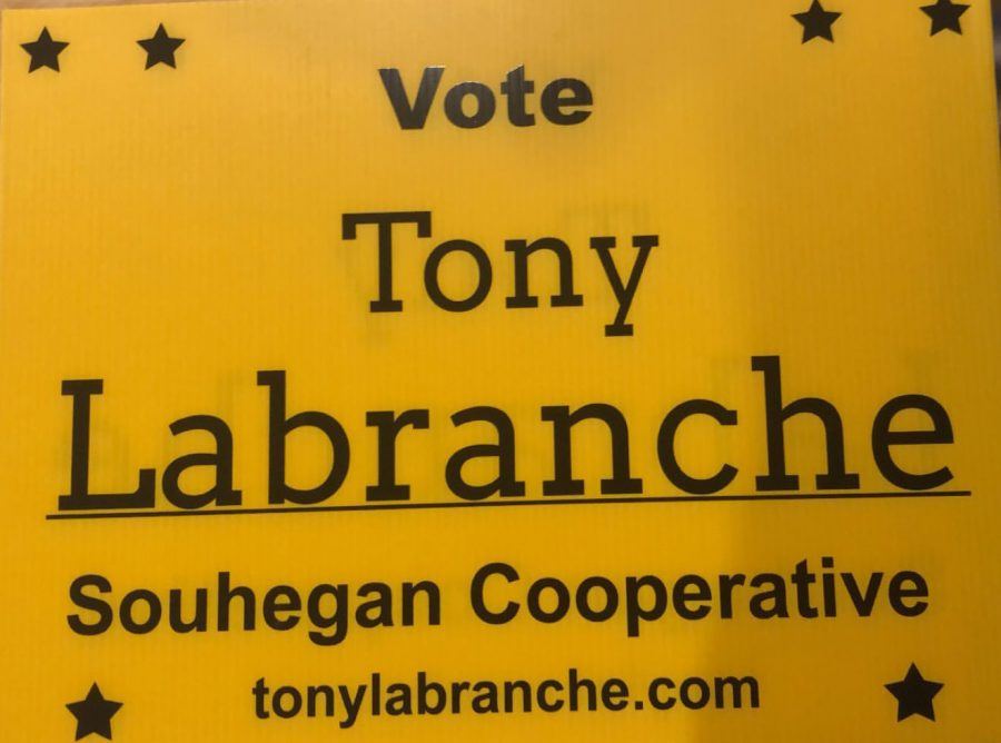 Student Leaders Support Tony Labranche