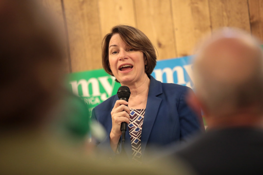 Amy Klobuchar Rises in the Polls