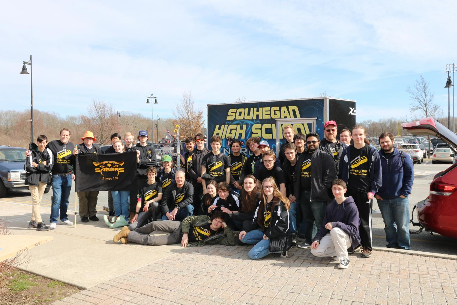 Souhegan's Own FIRST Robotics Team Entropy 138 Makes it to the Quarter-finals in the NE District SE Competition