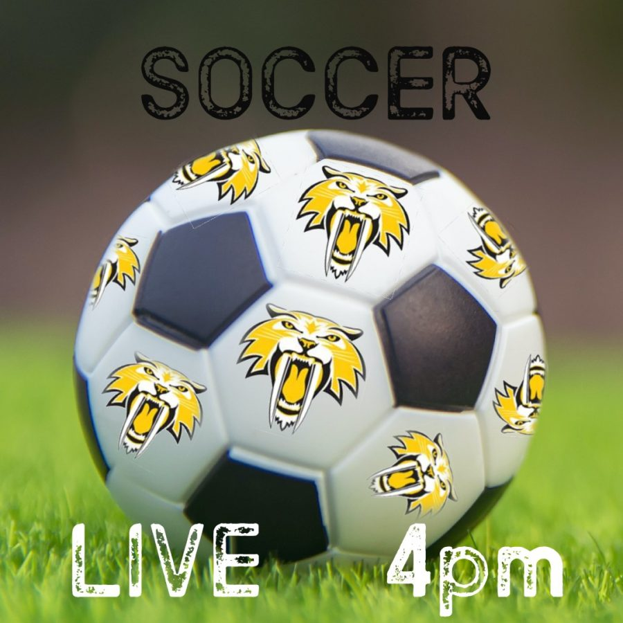 Boy's Soccer Live at 4 vs Pelham