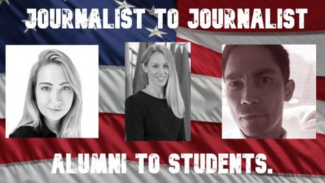 From Alumni to Student...Journalist to Journalist