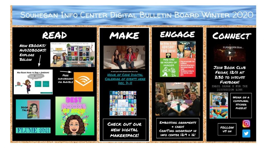Check Out the Info Center Winter Bulletin Board