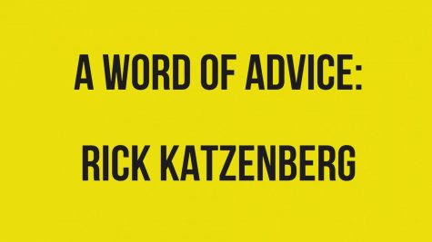 A Word of Advice: Rick Katzenberg