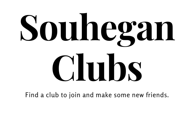 Souhegan High Schools List of Clubs