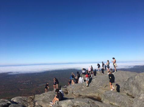 Class of 2022 Senior Hike on Mount Monadnock