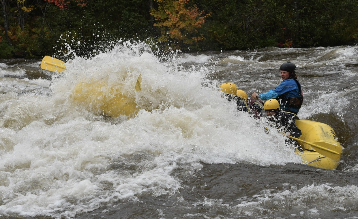 Souhegan Outing Clubs Whitewater Rafting Trip